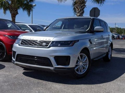 Certified Pre-Owned 2019 Land Rover Range Rover Sport SE